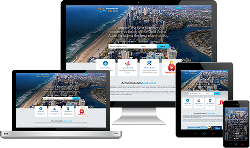Accommodation Gold Coast displayed beautifully on multiple devices