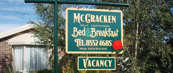 Mc Cracken Bed and Breakfast - Accommodation Gold Coast
