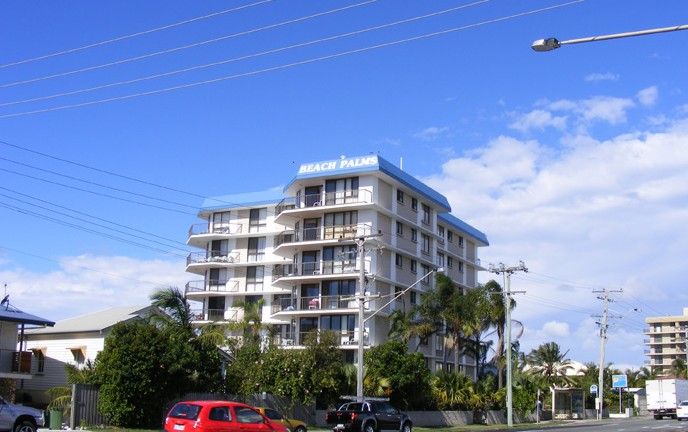 Beach Palms Holiday Apartments - Accommodation Gold Coast