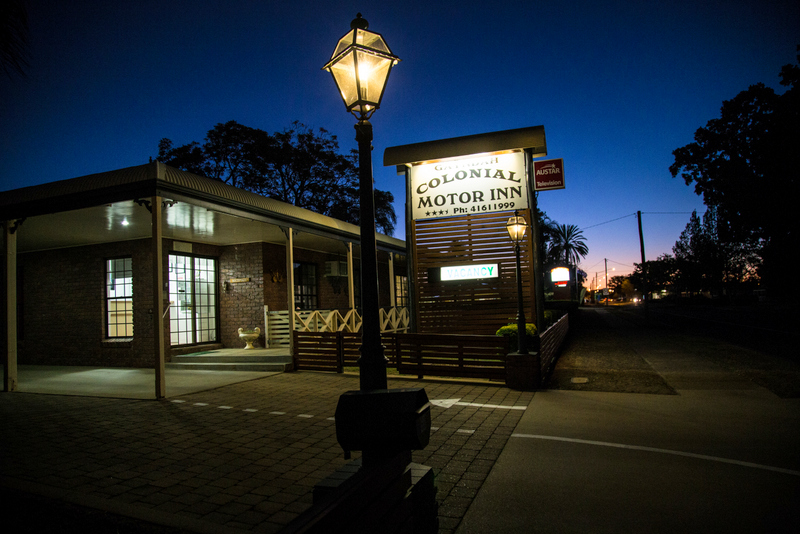 Gayndah Colonial Motor Inn - Accommodation Gold Coast