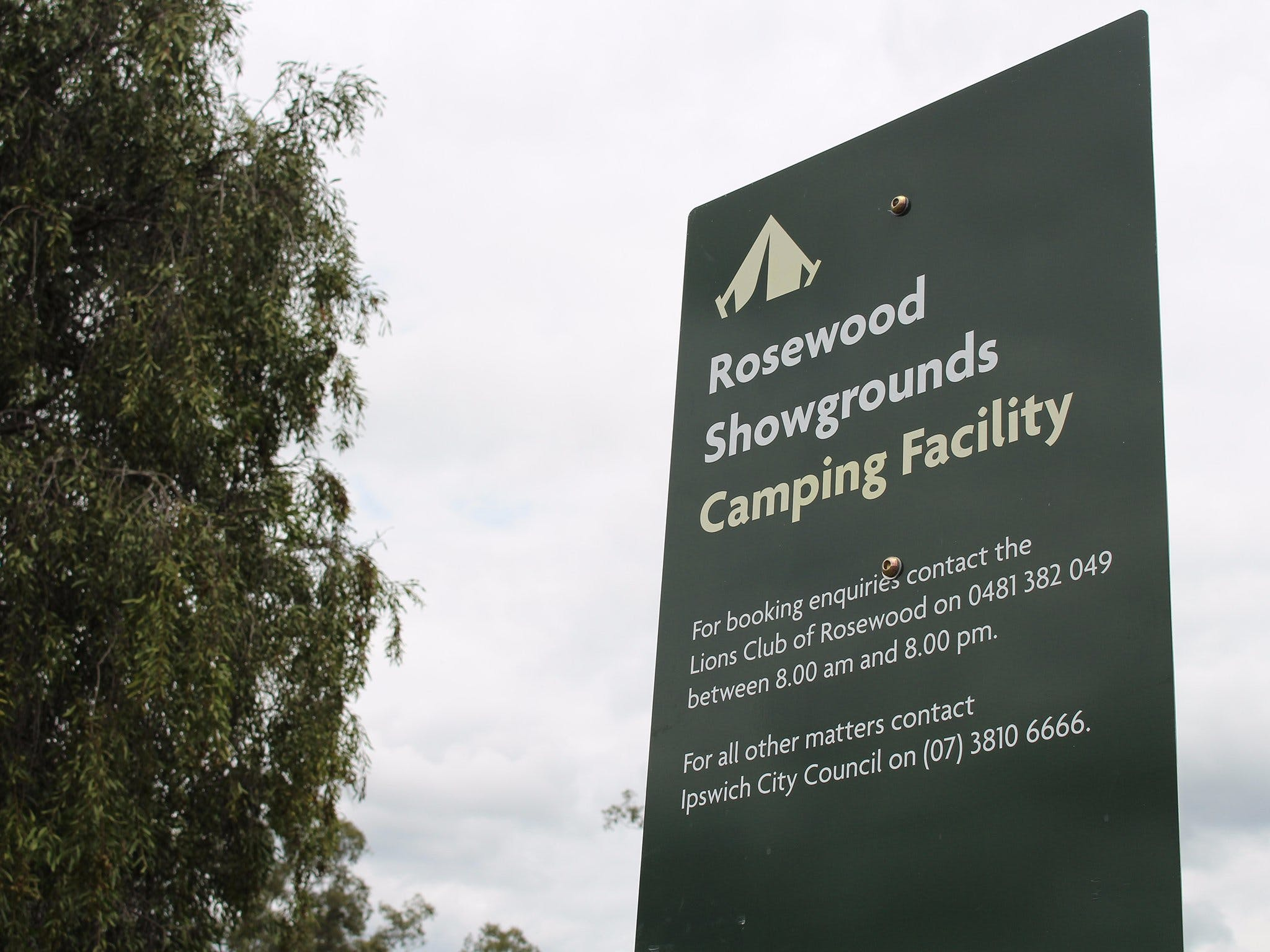Rosewood Showgrounds Camping Facility - Accommodation Gold Coast