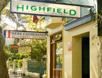 Highfield Private Hotel - Accommodation Gold Coast