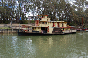 Emmylou Paddle Steamer - Accommodation Gold Coast