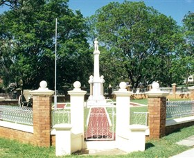 Boonah War Memorial and Memorial Park - Accommodation Gold Coast