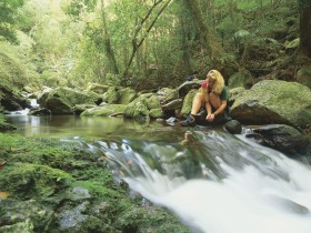 Lower Ballanjui Falls - Accommodation Gold Coast