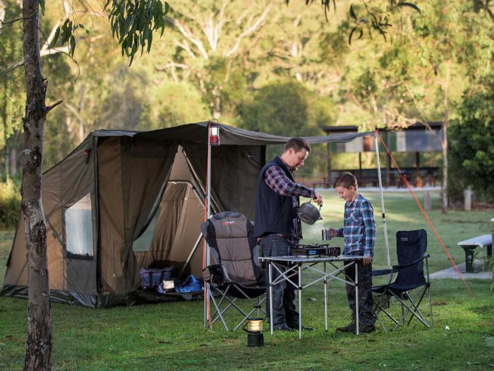 Hardings Paddock Campground - Accommodation Gold Coast
