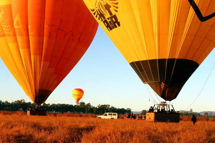 Hot Air Balloon Scenic Rim - Accommodation Gold Coast
