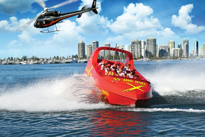 Gold Coast Helicopter 10 min Flight and Jet Boat Ride - Accommodation Gold Coast