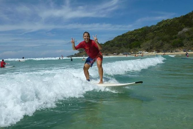 Rainbow Beach Surf School 2 Hour Main Beach Surf Lesson - Accommodation Gold Coast