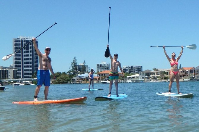 Stand up Paddle Lesson - Accommodation Gold Coast