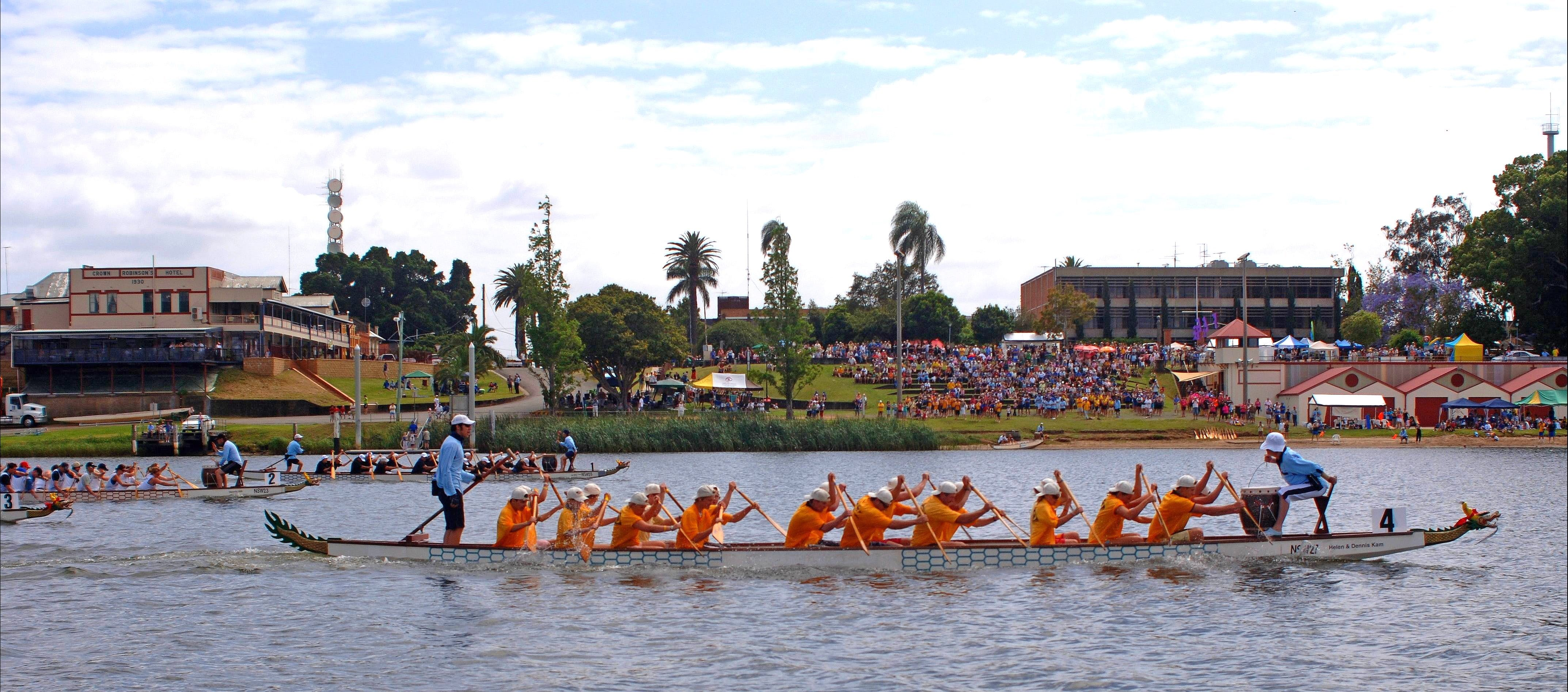 Jacaranda Dragon Boat Races - Accommodation Gold Coast