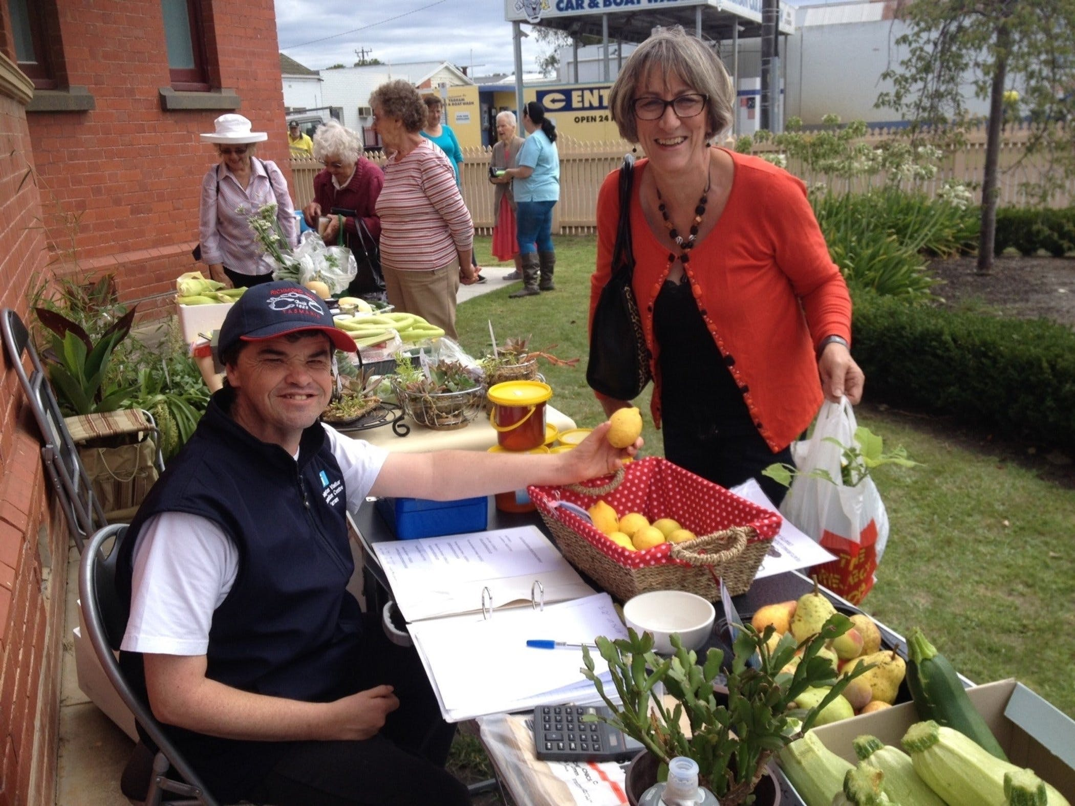 Yarram Courthouse Garden Produce Market - Accommodation Gold Coast