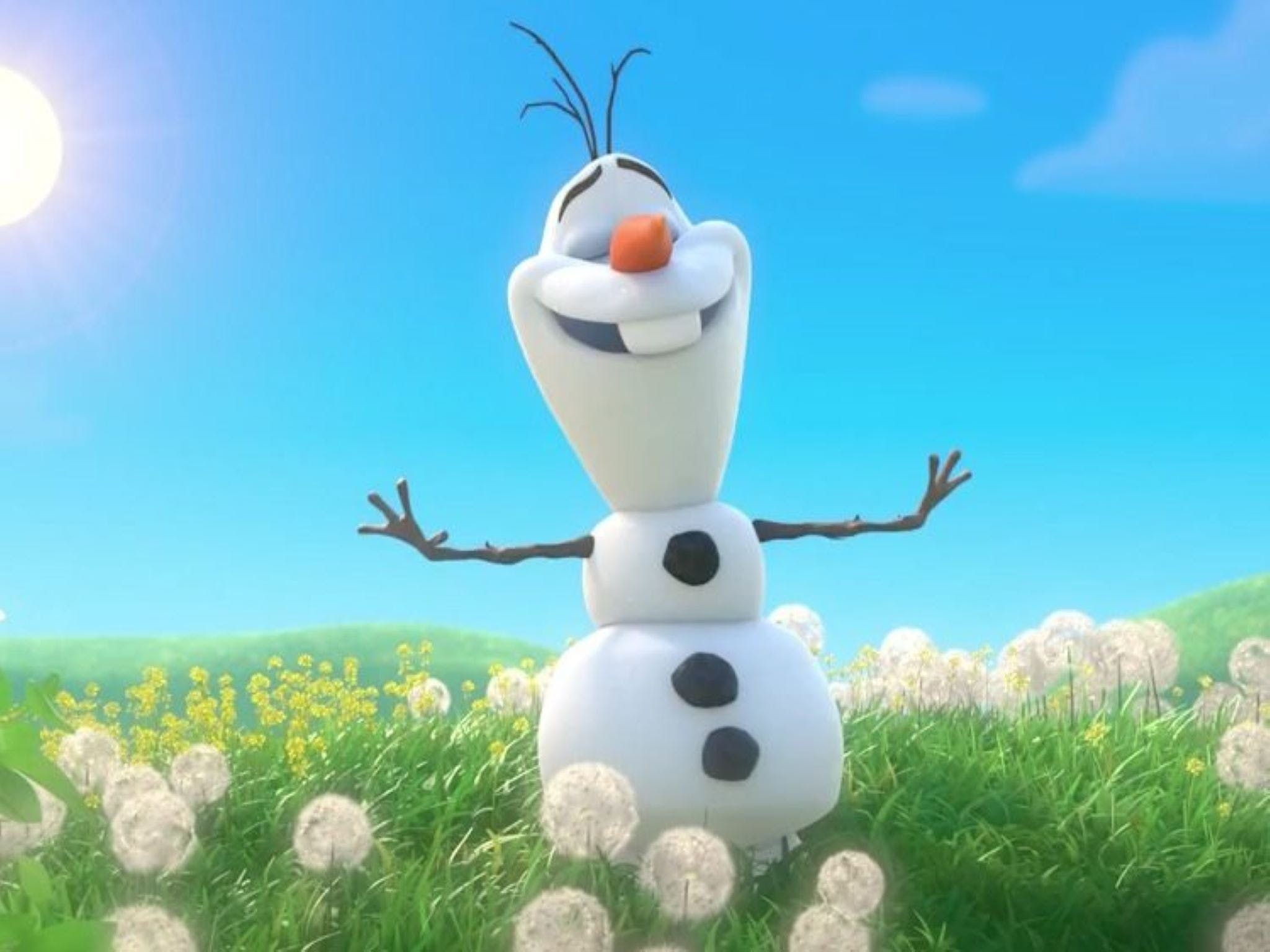 Meet Olaf from Frozen - Accommodation Gold Coast