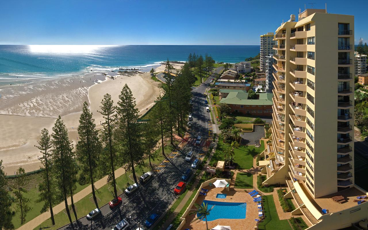 Columbia Beachfront Apartments - Accommodation Gold Coast