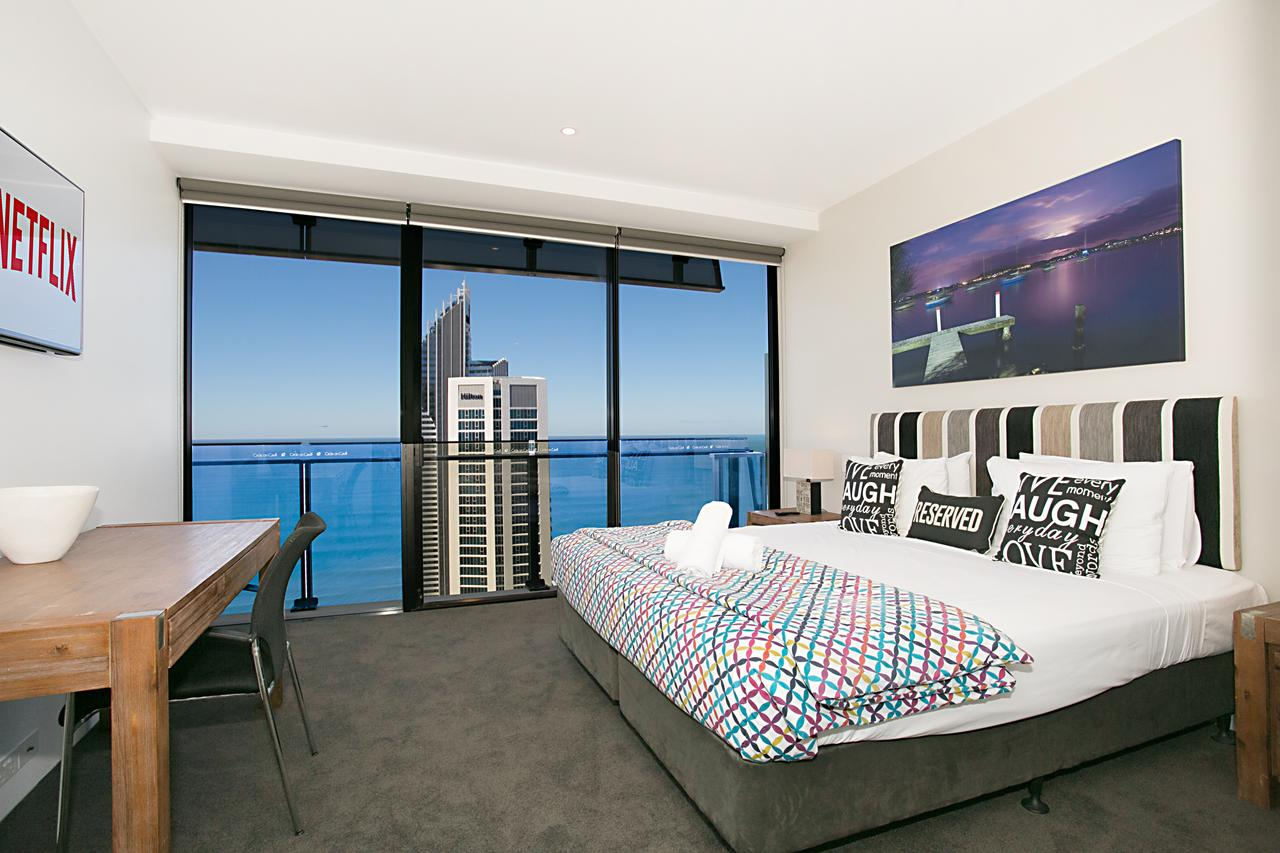 Circle  2 3 4  5 Bedroom SkyHomes  Sub Penthouses by Gold Coast Holidays - Accommodation Gold Coast